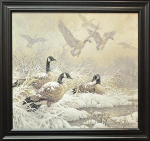 """""""Winter's Retreat""""by Larry Fanning"""