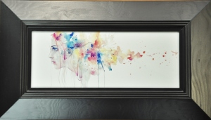 Wake of Herself by Agnes Cecile